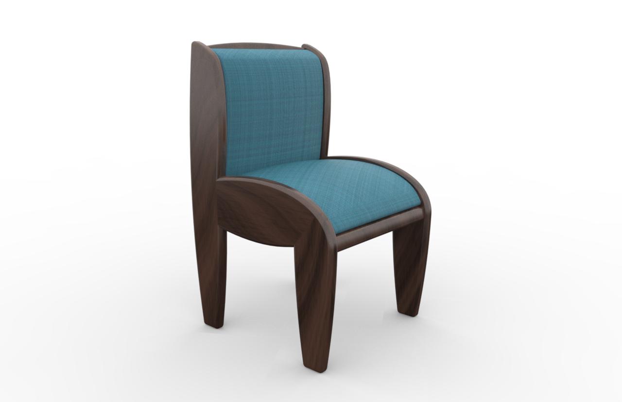 Botero chair interior design