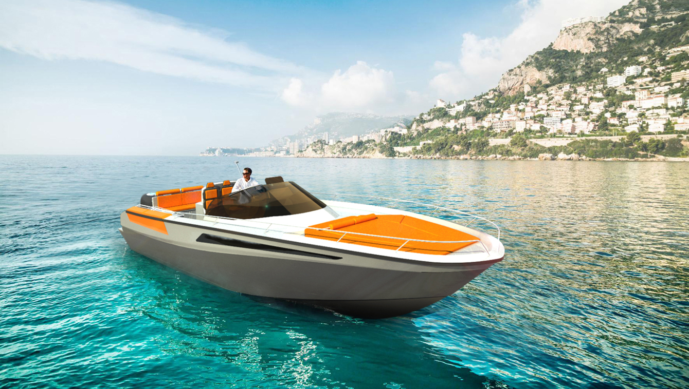 Yacht concept - Solaria 32