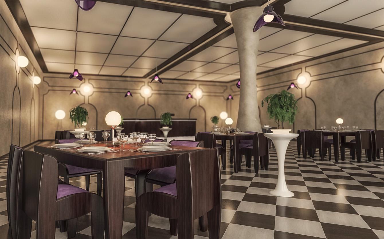 Restaurant - interior design